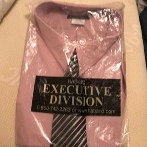 Men's long sleeve shirt with tie